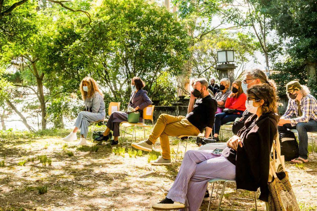 Programa Descúbreas en el festival SinSal con la presidenta de diputación de Pontevedra