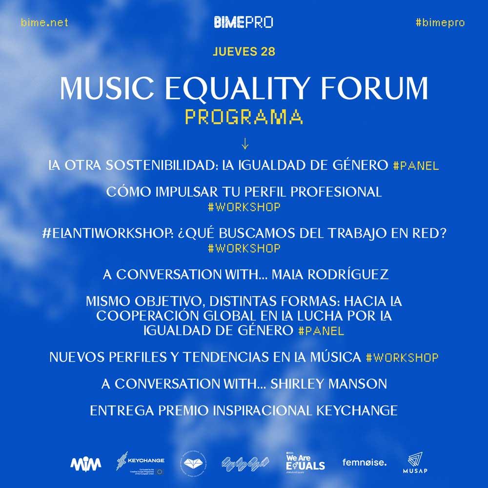 Music Equality Forum